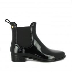 botas agua GIOSEPPO negras con elásticos