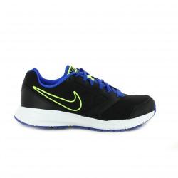 zapatillas deportivas NIKE negras y azules