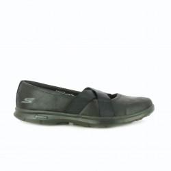 zapatillas deportivas SKECHERS negras sin cordones