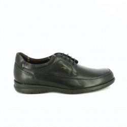 zapatos vestir FLUCHOS negros de piel con cordones