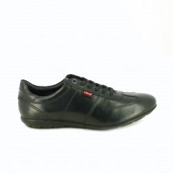 zapatos sport LEVIS negros de piel