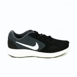 zapatillas deportivas NIKE revolution negras y grises