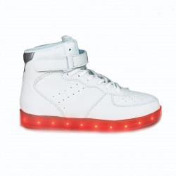 zapatillas deportivas XTI con luces led blancas