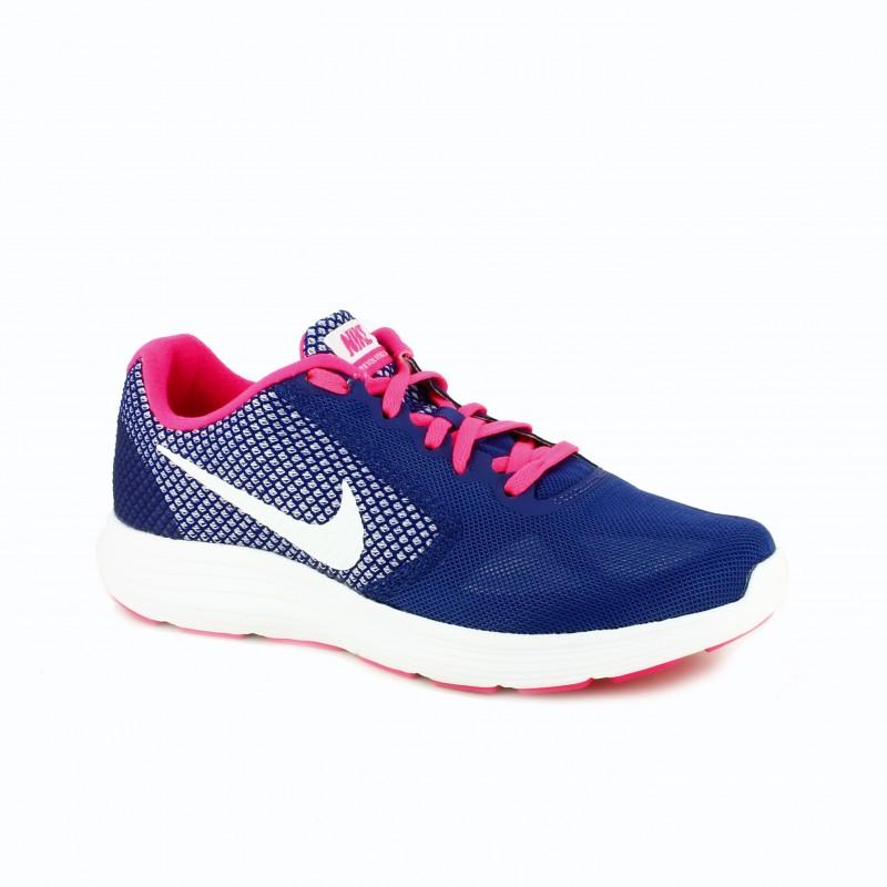 Nike Azules Y Rosas