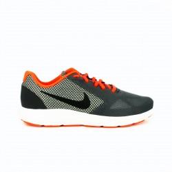 zapatillas deportivas NIKE revolution 3 grises