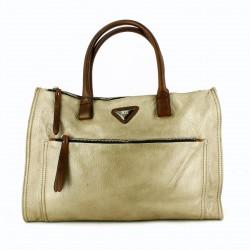complementos XTI bolso gris y marrón