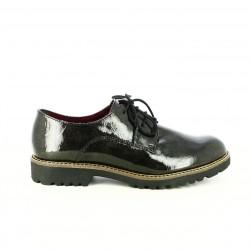 zapatos tacón TAMARIS bluchers metalizados de charol