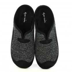 zapatillas casa GARZON negras y grises