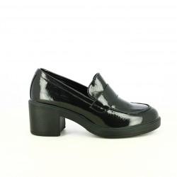 zapatos tacón FRANCESCO MILANO mocasines de charol