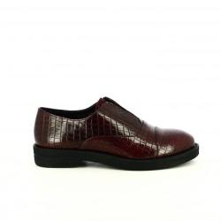 zapatos planos FRANCESCO MILANO slip on animal print