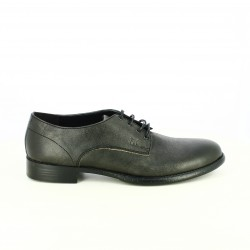 zapatos vestir LUMBERJACK bluchers negros clásicos - Querol online