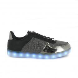 zapatillas deportivas CHIKA10 negras con luces led