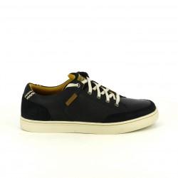 zapatos sport SKECHERS negros de piel con memory foam