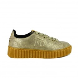 zapatillas lona Mustang creepers estampadas