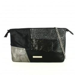 complementos MARIA MARE bolso negro distintas texturas