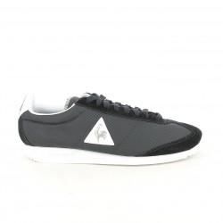 zapatillas deportivas LE COQ SPORTIF negras, blancas y plateadas - Querol online