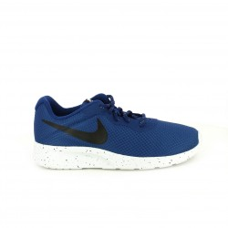 zapatillas deportivas NIKE tanjun azules y negras - Querol online