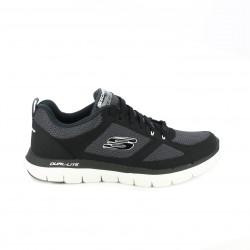 zapatillas deportivas SKECHERS negras con memory foam - Querol online