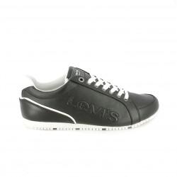 zapatos sport LEVIS negros y blancos - Querol online