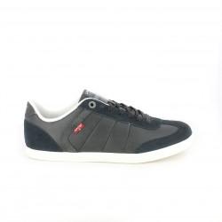zapatos sport LEVIS negros de piel comfort tech - Querol online