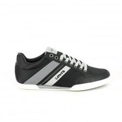 zapatos sport LEVIS negros y grises - Querol online