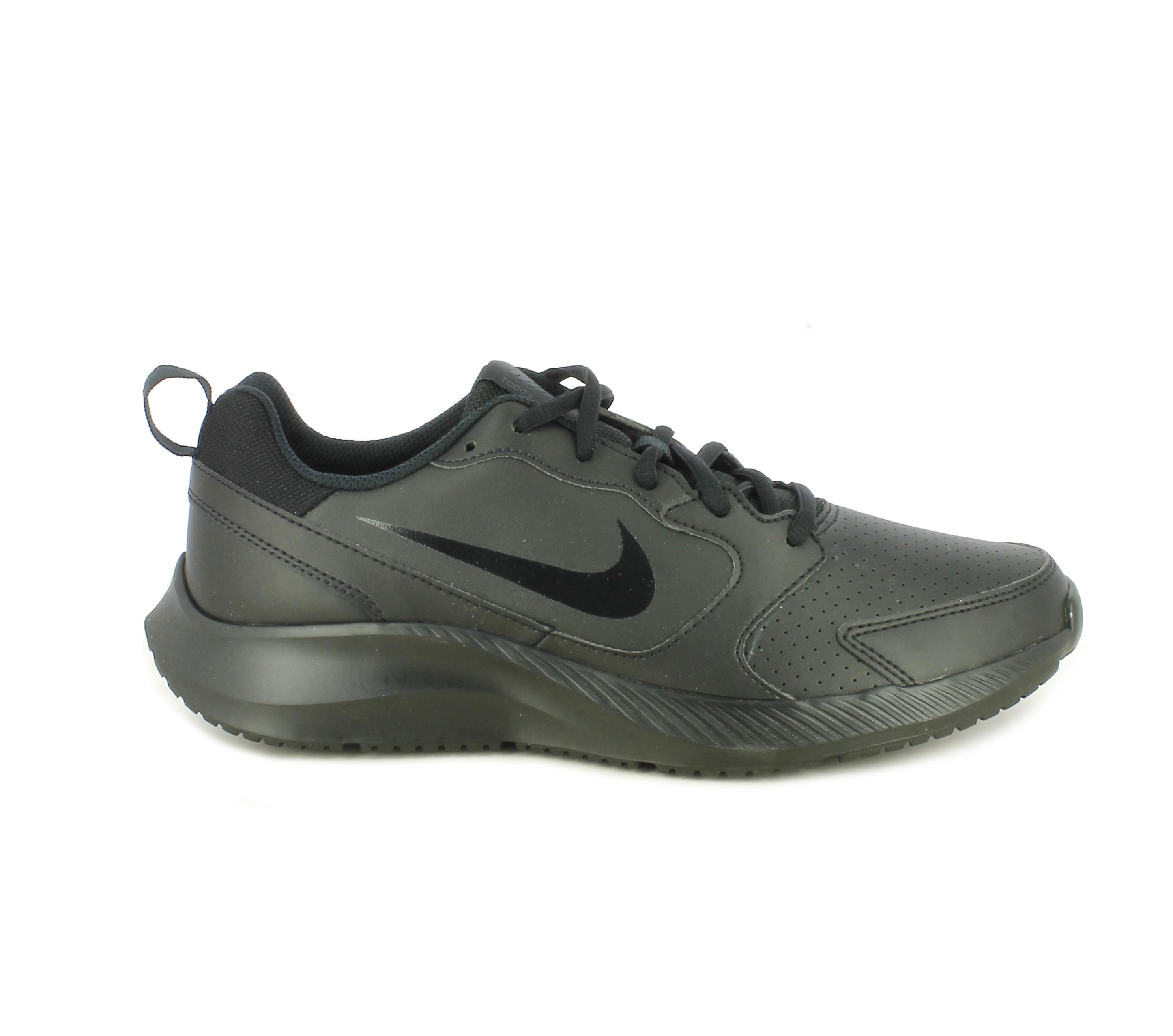 Zapatillas Deportivas Bq3198 Negras Con Cordones Nike