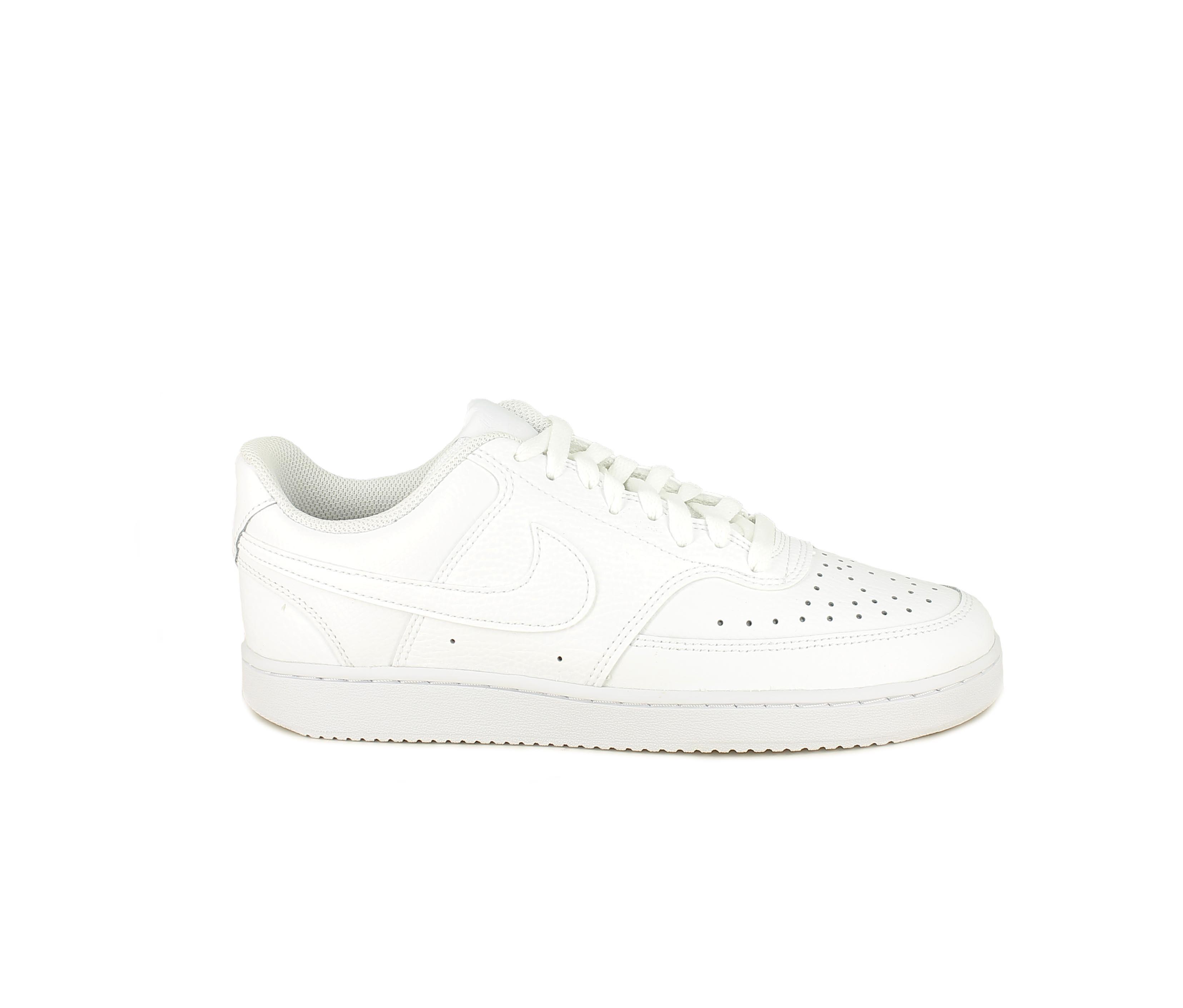 Zapatillas deportivas Nike court vision blancas con cordones