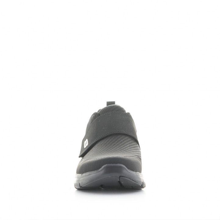 Sabatilles esportives Skechers flex advantage negres amb velcro - Querol online