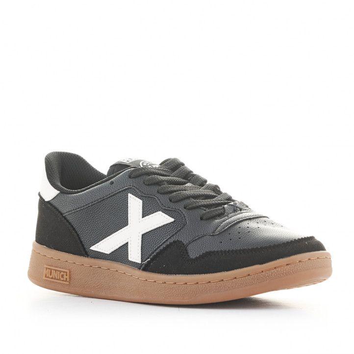 Zapatillas deportivas Munich arrow 21 negras y blancas - Querol online