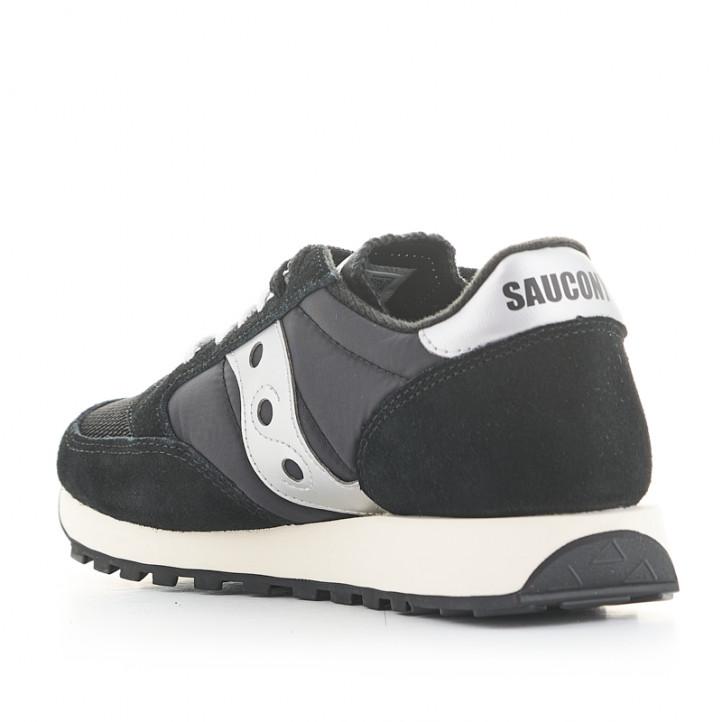 Zapatillas deportivas SAUCONY jazz original negras y blancas - Querol online
