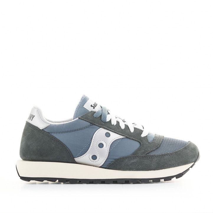 Zapatillas deportivas SAUCONY jazz original azules y blancas - Querol online