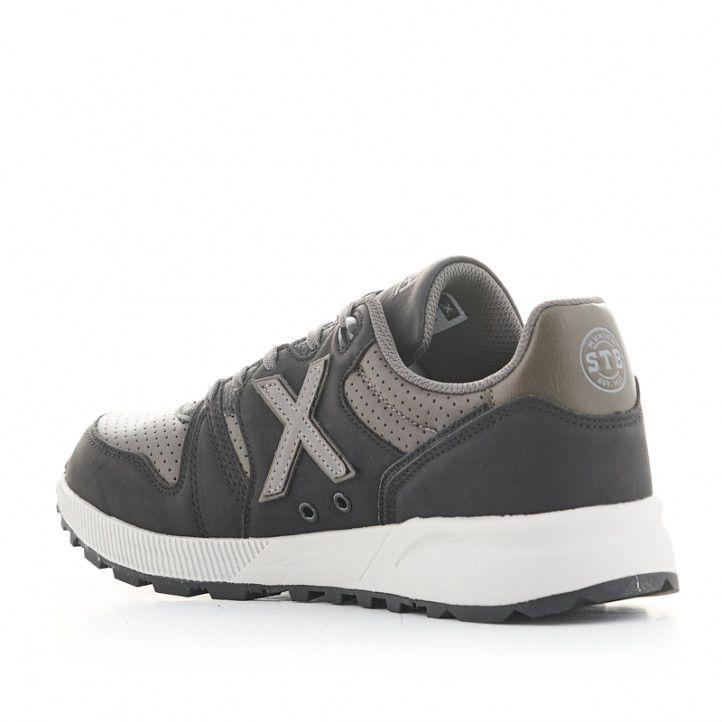 Zapatillas deportivas Munich 1030 negras - Querol online