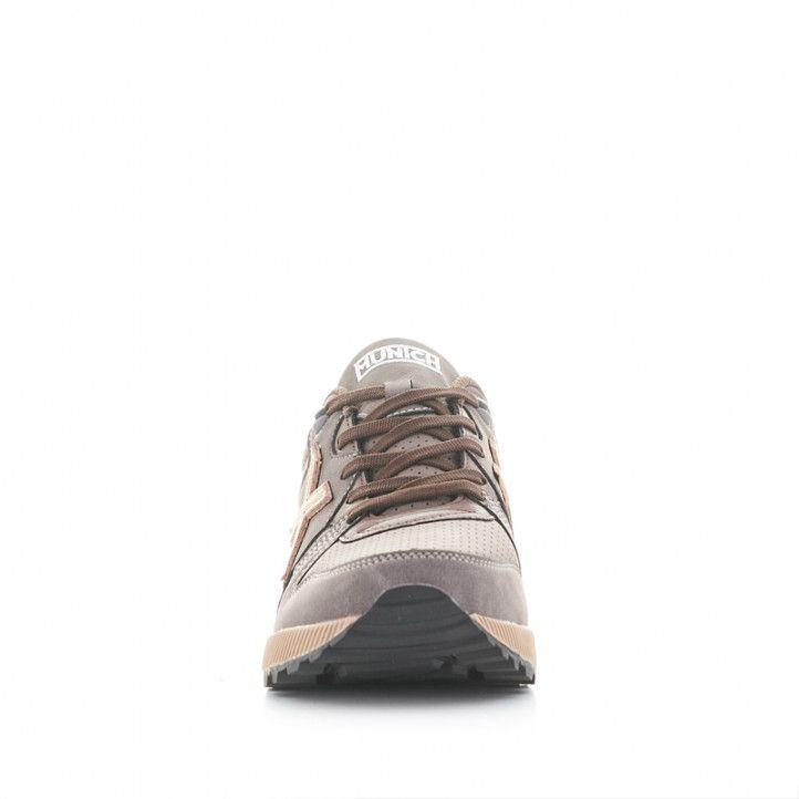 Zapatillas deportivas Munich 1030 marrones - Querol online