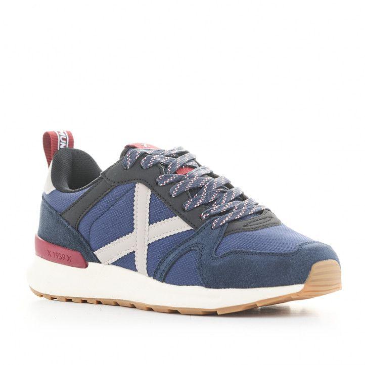 Zapatillas deportivas Munich alpha 43 azules - Querol online