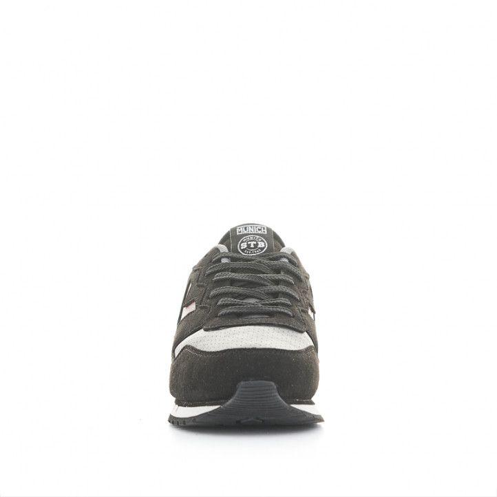 Zapatillas deportivas Munich dash premium 73 negras, grises y rojas - Querol online