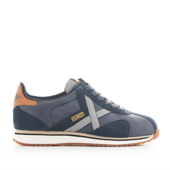 Zapatillas deportivas Munich sapporo 97 azules - Querol online