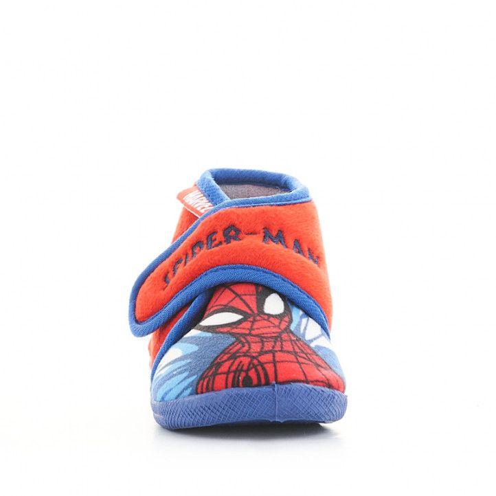 Espardenyes casa Cerda abotinada amb dibuix de spiderman - Querol online