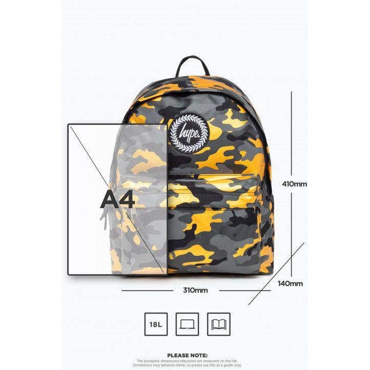 Mochila HYPE gold camo backpack - Querol online