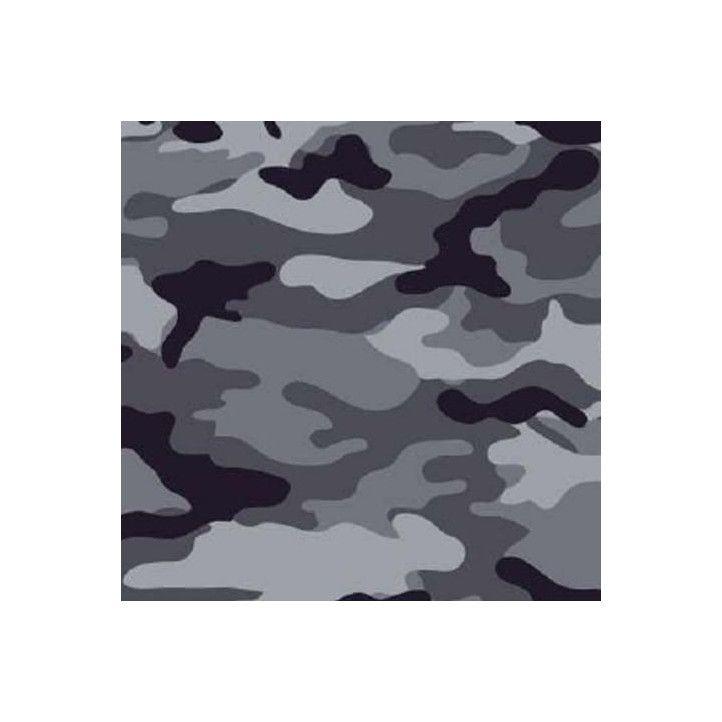 Mascarillas DEANSHIELD higiénica reutilizable homlogada gris camuflaje - Querol online
