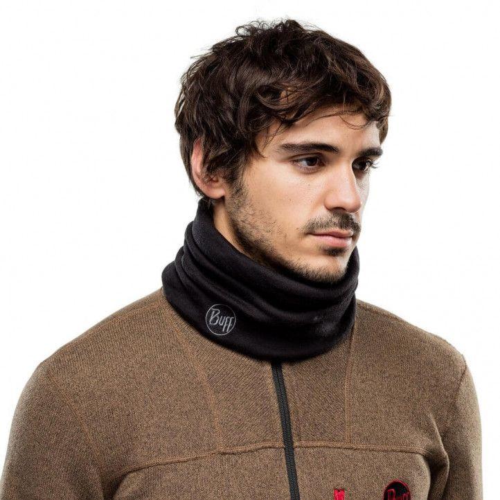 Complementos Buff Tubular lana merino heavyweightSolid Black - Querol online