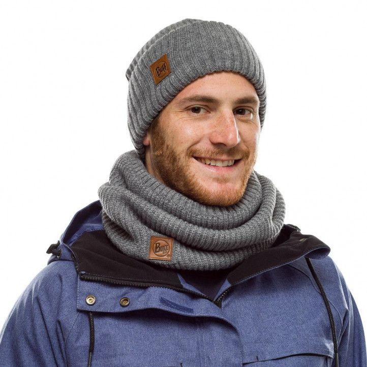 Complementos Buff gorro tricot rutger melange grey - Querol online