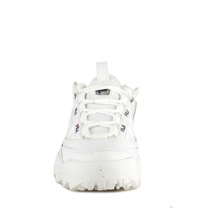 Zapatillas deportivas Fila blancas con cordones modelo d formation - Querol online