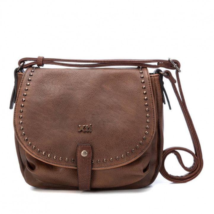bolsos Xti marrón con tachuelas - Querol online
