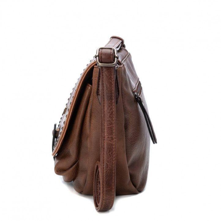 bosses Xti marró amb tatxes - Querol online