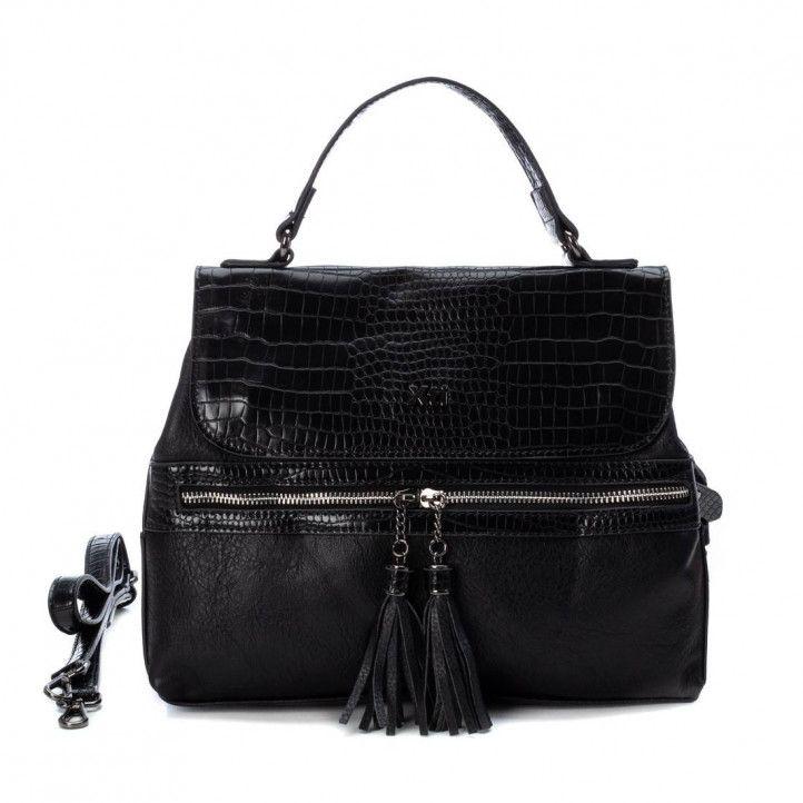 bosses Xti negra amb animal print - Querol online