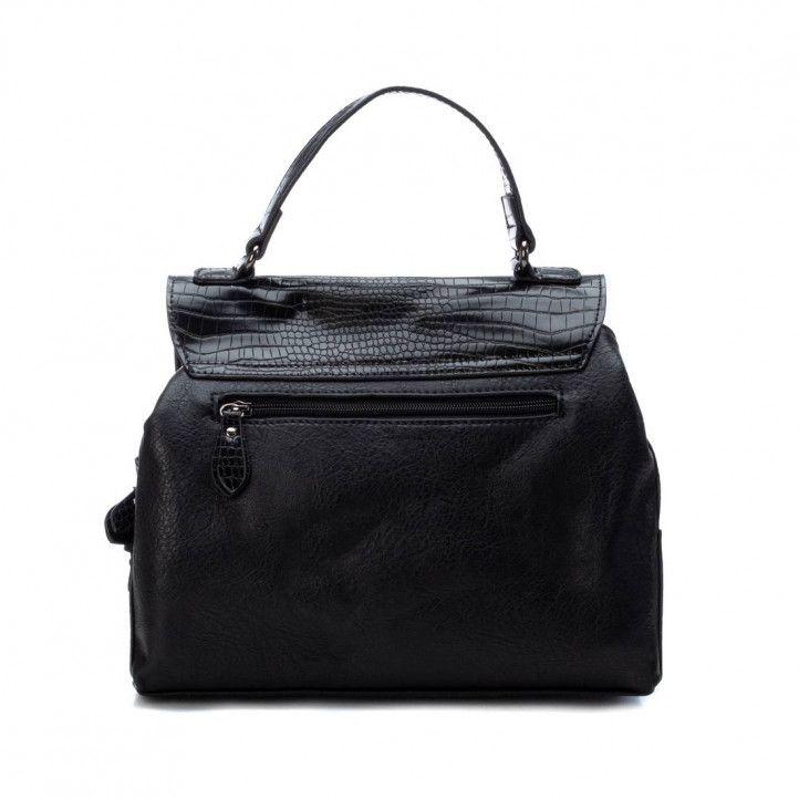 bolsos Xti negro con animal print - Querol online