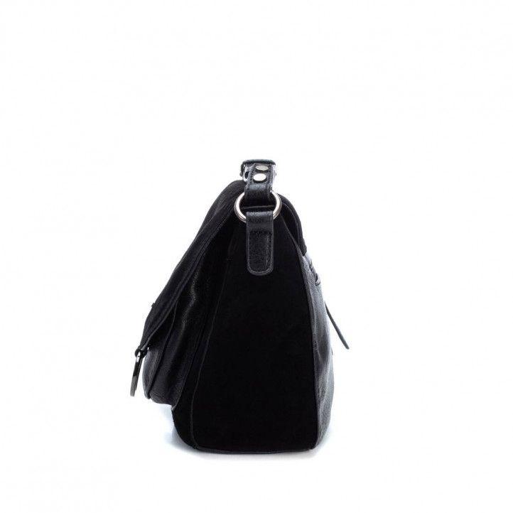 bosses Carmela negra amb detall metàl·lic - Querol online
