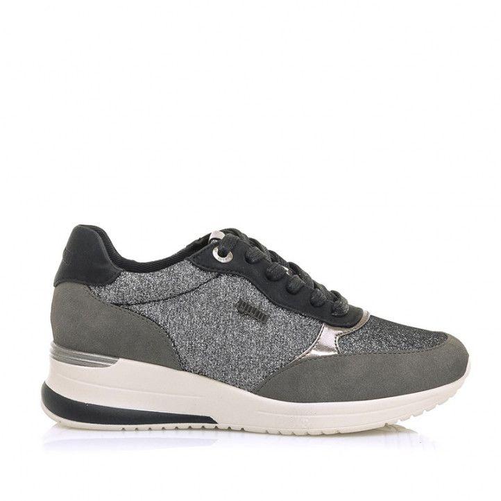 Zapatillas deportivas Mustang lara grisa - Querol online