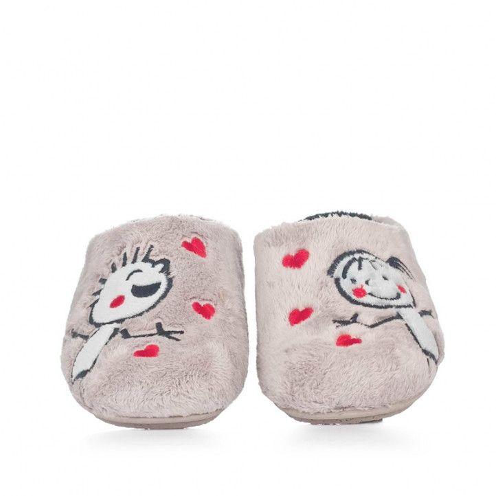 Zapatillas casa Vul·ladi niños beige - Querol online