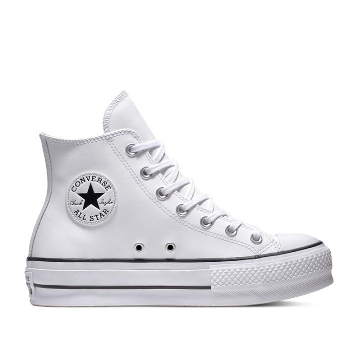 Zapatillas deportivas Converse chuck taylor all star platform leather high-top - Querol online